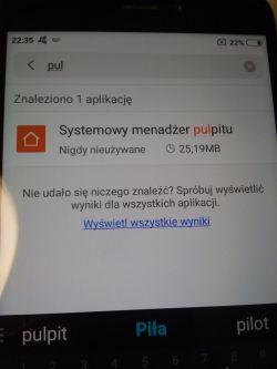 Systemowy menadżer pulpitu, błąd w telefonach Xiaomi - rozwiązanie
