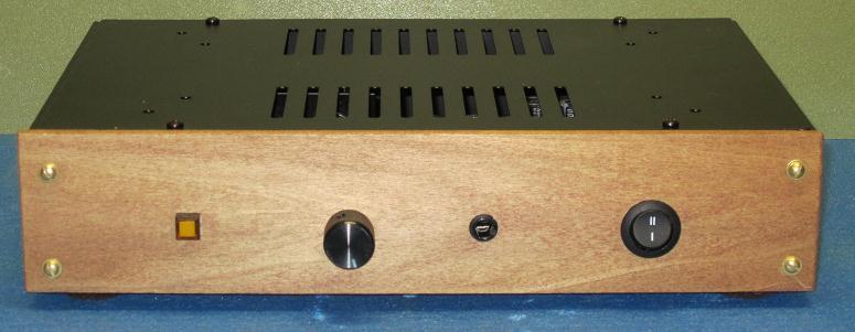 Wzmacniacz s�uchawkowy na lampie ECC88