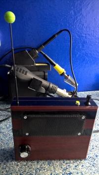 Proste radio FM na TDA7000 ze wzmacniaczem LM386