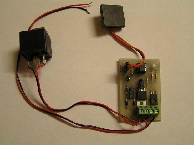 Prosty immobiliser z czytnikiem RFID