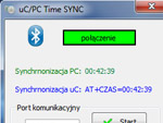uC/PC Time Sync - Bluetooth/RS232 - synchronizuj sw�j czas