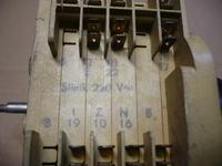 Pralka POLAR LUNA 385 E-uszkodzona uszczelka termostatu
