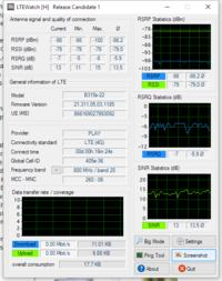 Wybór LTE i anteny w mojej lokalizacji