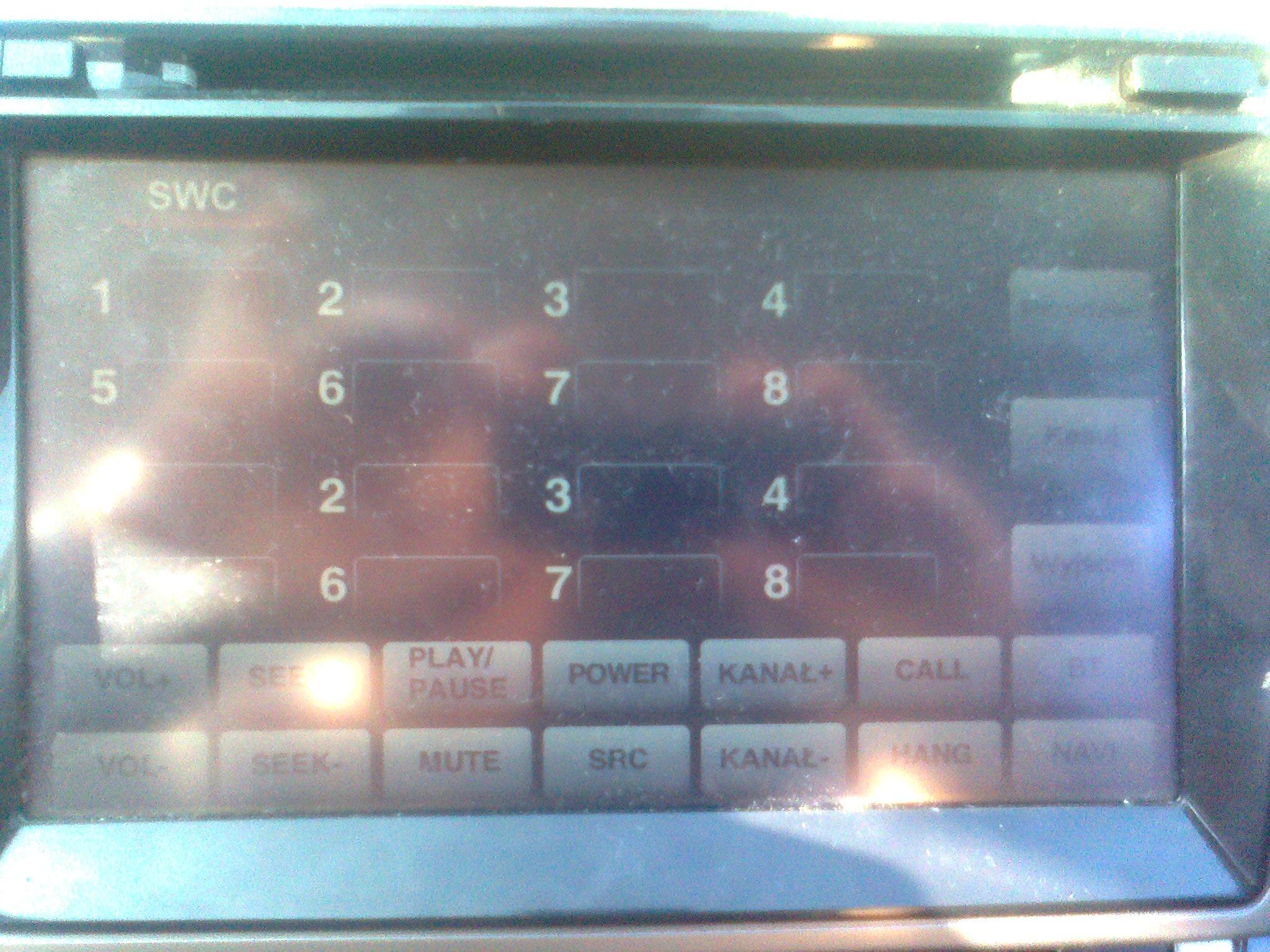 MAZDA 6 GH - sparowanie kierownicy wielofunkcyjnej z urz�dzeniem multimedialnym