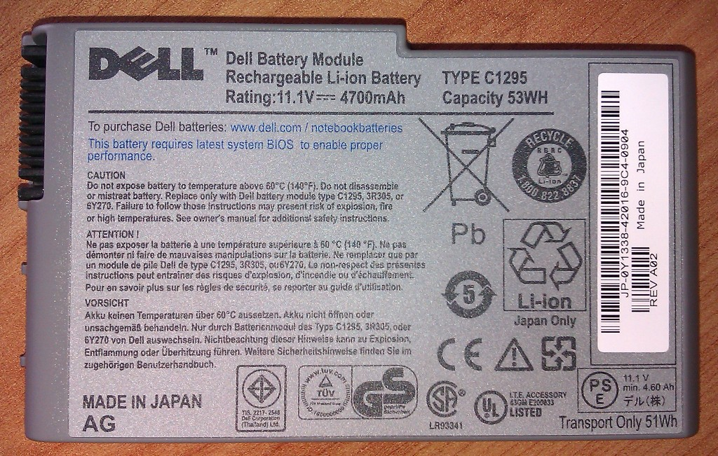 [Sprzedam] SPRZEDAM bateri� do dela D600 / 610 53WH  4700 nowe orygina�