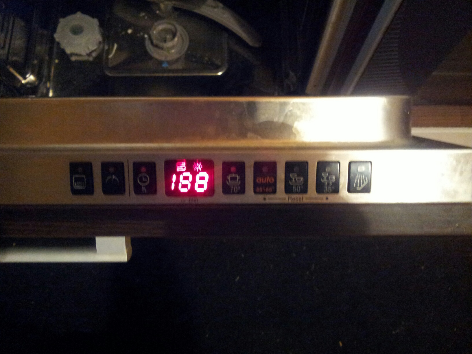 zmywarka Bosch SGI5635EU nie chce si� zrestartowa�