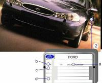 Ford Mondeo mk2 - Jaki kod silnika zetec 1.6?