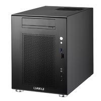 LIAN LI PC-V650 - obudowa mini tower z umieszczonym bocznie zasilaczem