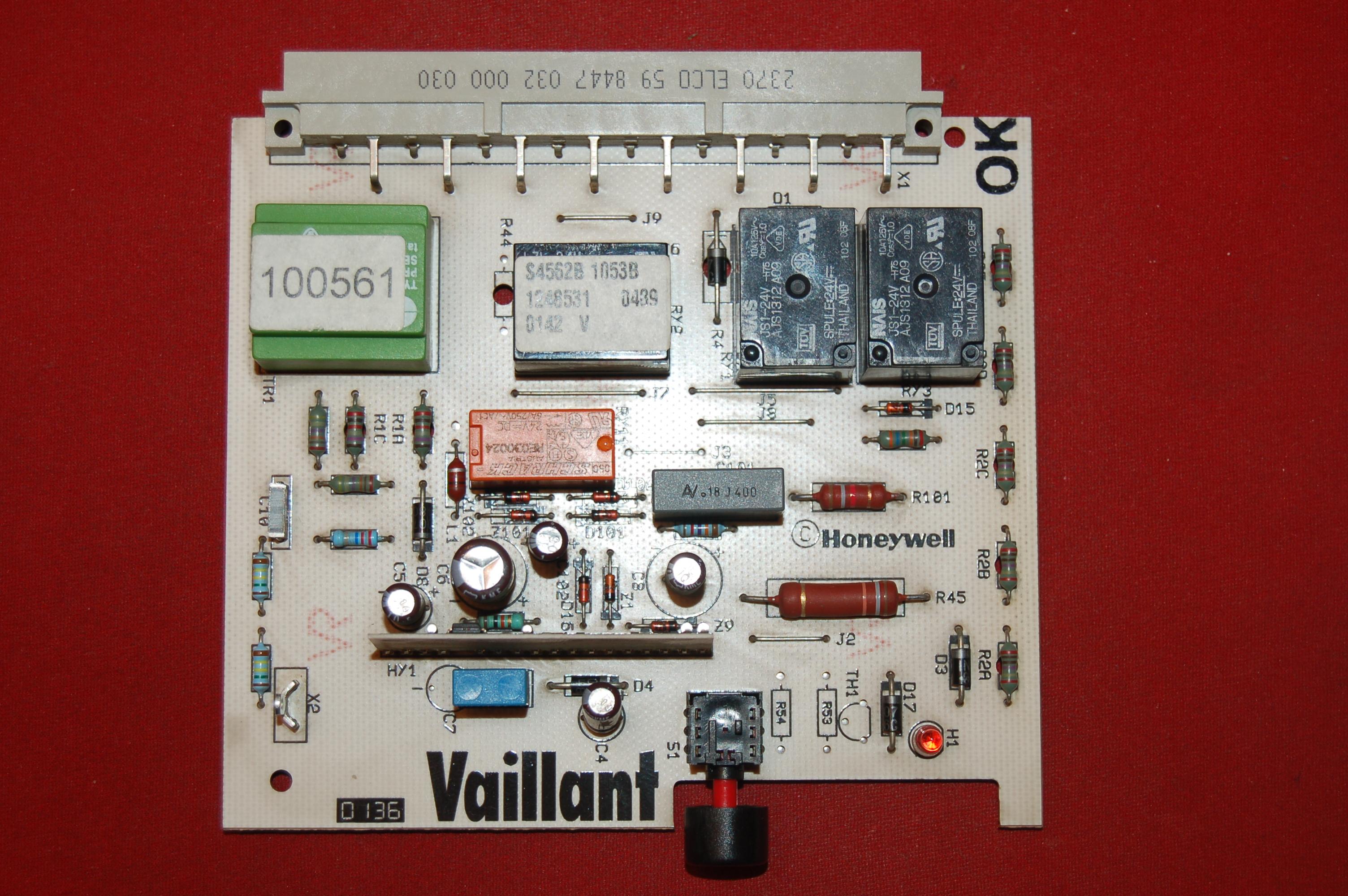 Vaillant Honeywell - p�ytka sterownika 45.006.199-004