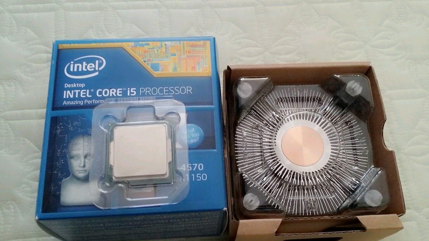 [Sprzedam] Sprzedam procesor Intel Core i5-4570 3.2 GHz Quad-Core