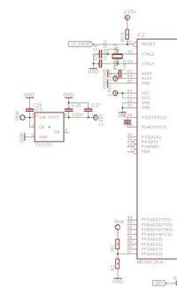 Atmega128L problem ze startem z LDO 2.85