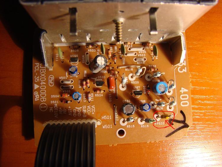 Panasonic SA-AK520 Rezystor bezpiecznikowy (FP533)