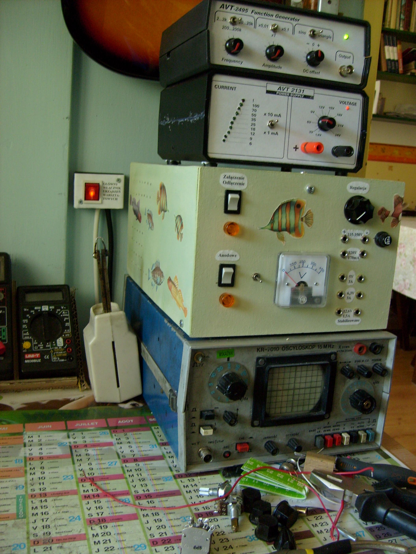 Lampowy stabilizowany regulowany zasilacz 115-350V 170mA