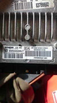 Peugeot 307 - Wymiana sterownika SID803
