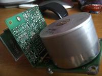 Silnik 24v DC z HP LaserJet 4si, szukam sposobu sterowania
