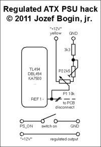 Zasilacz impulsowy z 230V AC na 5-30V DC