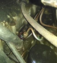 Daewoo lublin 2 - układ paliwowy co to za przewód
