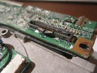 Wymiana gniazda matrycy na płycie głównej HP DV9500