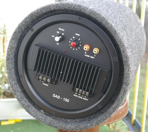 Przerobienie Tonsil SAS 150 na subwoofer domowy
