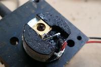 Wymiana diody laserowej c-mount w module 1200mw 650nm