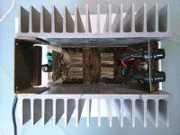 [Sprzedam] Części do wzmacniacza audio: mostek,końcówki,radiatory,transformatory
