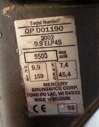 Silnik zaburtowy Mercury 9,9 E - jak sprawdzić kompresje - prośba o instrukcję