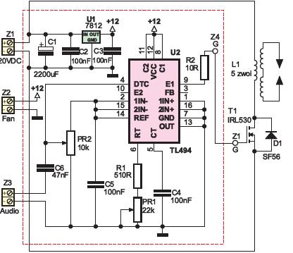 Czy można zastąpić tranzystor MOSFET na bipolarny w głośniku plazmowym?