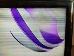 Samsung UE40EH5300WXXH - Po wymiania TCON wyświetla czarne poziome paski