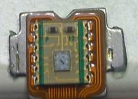 Detekcja błysków czerwonej diody, formowanie impulsu dla wejścia INT w uP