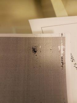 hp laserjet 1010 drukuje czarne kartki