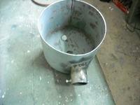 Piec do topienia metali kolorowych.