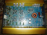 """Wzmacniacz DPULSE spalone tzw """"dual diody"""" w przetwornicy"""