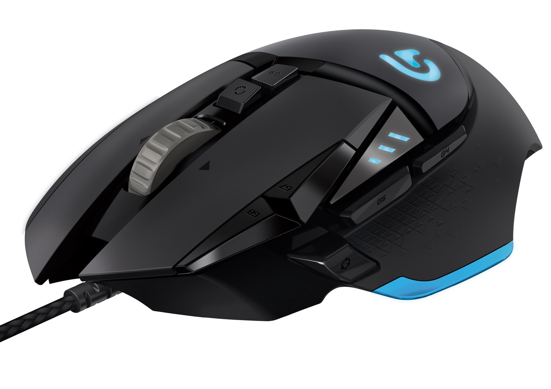 Logitech G502 - mysz dla graczy z przetwornikiem 12000 dpi