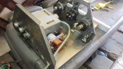 Budowa panelu sterowania do turbinowego silnika 2PW8, uruchomienie