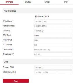 Nie działa FreeIP , router LTE podłączony do rejestratora GISE. (Orange)