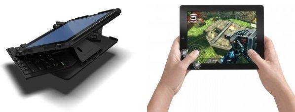 Logitech przedstawi� klawiatur� i jostick dla iPada