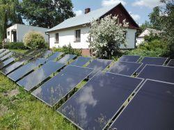 Przydomowa elektrownia słoneczna DIY - po kosztach i sporej mocy.