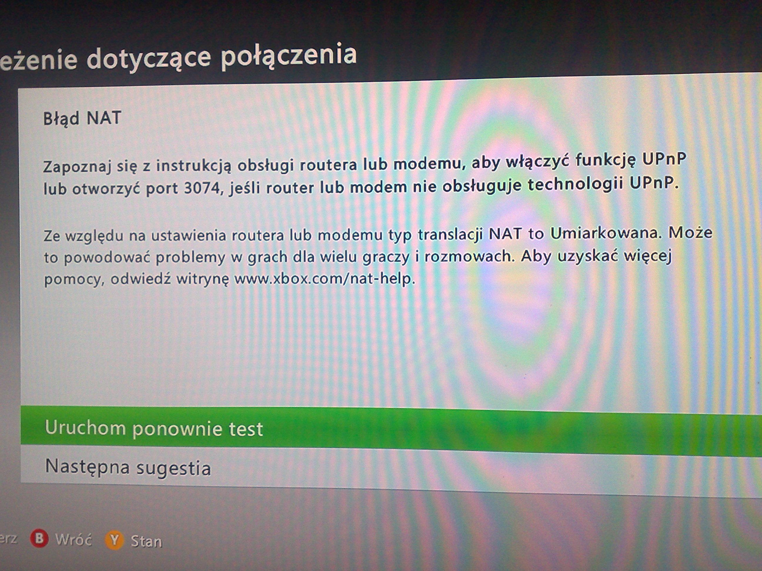 PROBLEM - NETIA SPOT - UPNP, PORT 3074