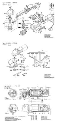 Szlifierka k�towa PWS 555 - Jak zdemontowa� z�batk�?