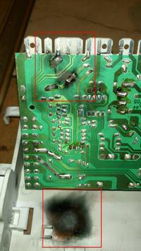 Ardo FLS 105L - Znaleziona usterka - skąd takie zniszczenia?