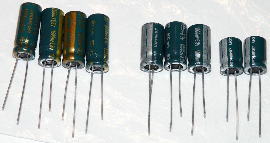GeForce 8600GT - uszkodzone kondensatory
