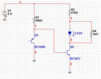 Odbiornik AM wzmacniacz końcowy -> głośnik 4 ohmy