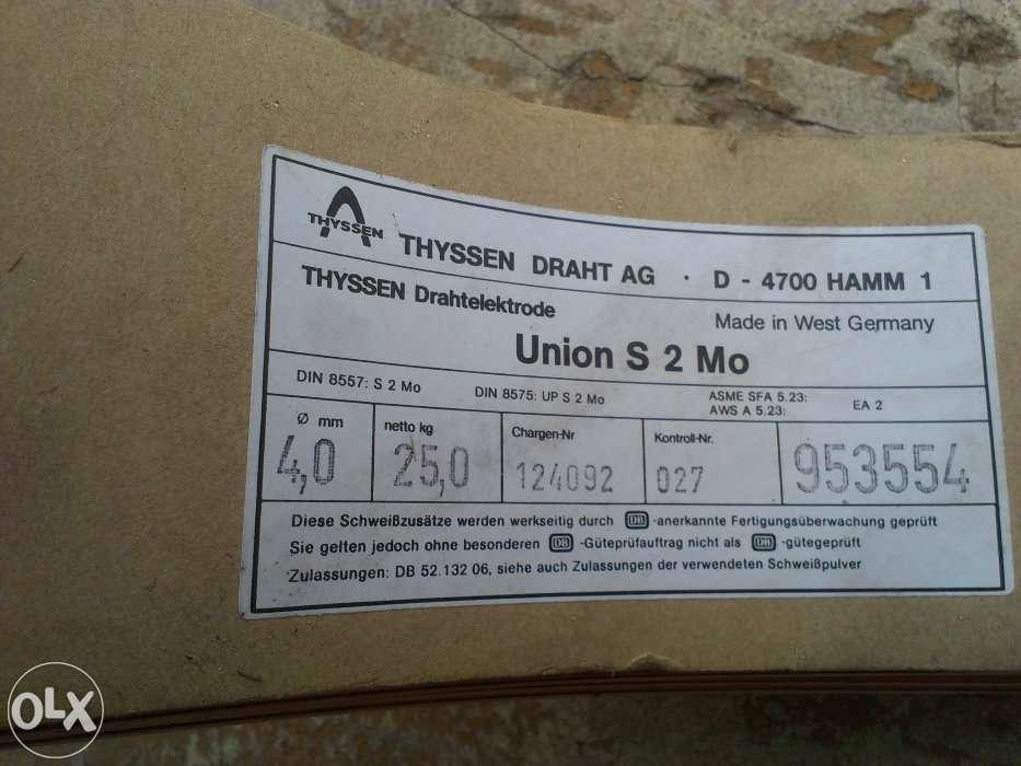 Thyssen draht ag hamm union S 2 Mo