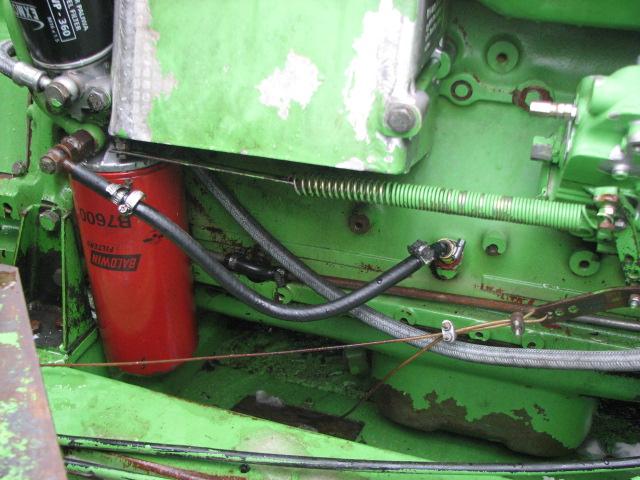 Silnik DEUTZ BF6L913 - Za wysokie ci�nienie oleju