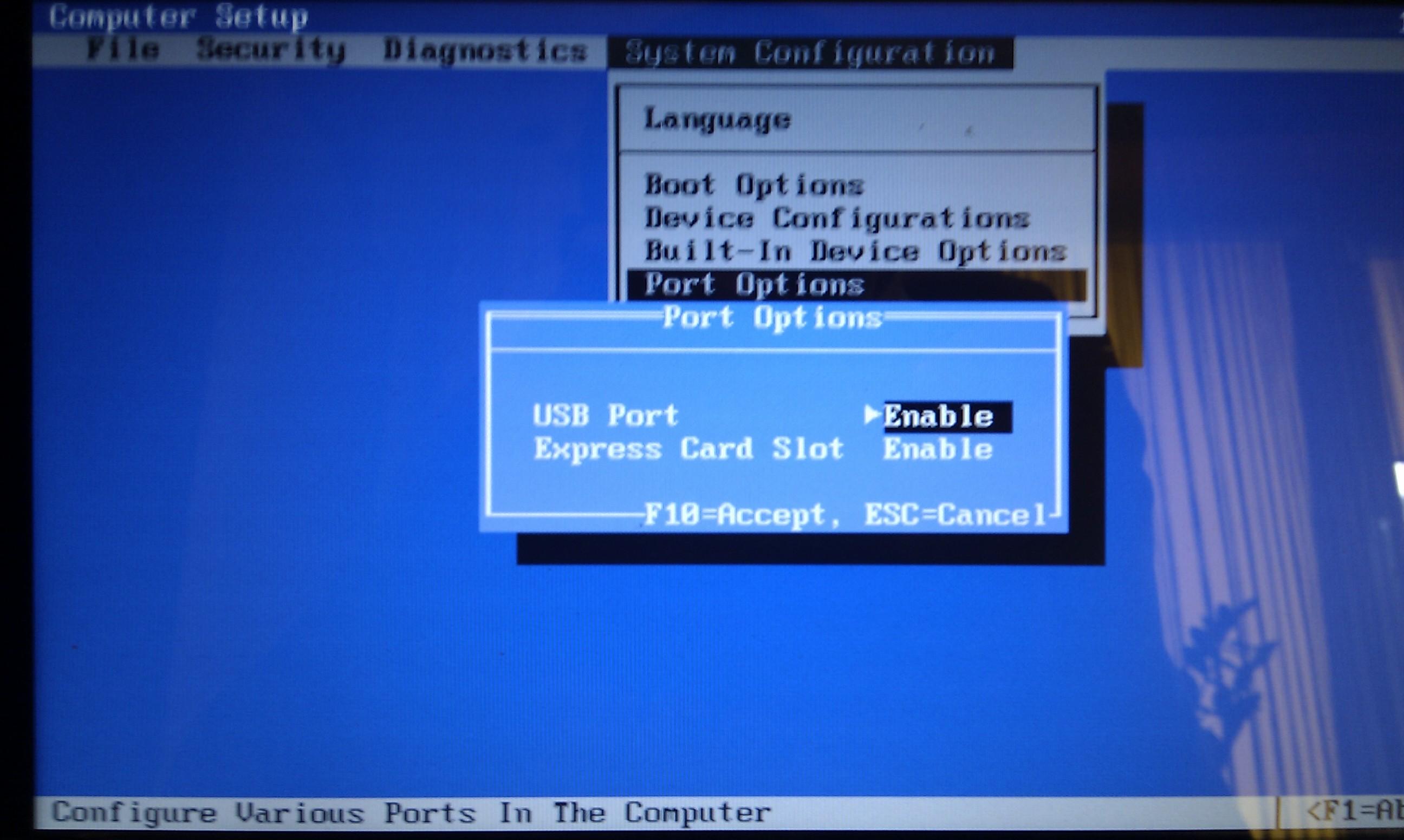 Instalacja Windowsa XP z pendrive ustawianie bootowania w biosie