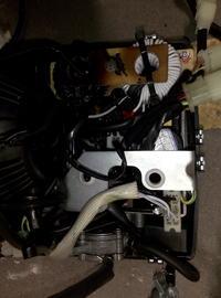Generator Clarke IG1000 - Brak 230V. Uszkodzone cewki/dławik