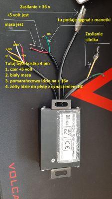 Motor Controller Venakon - Jak podłączyć sterownik do hulajnogi elektrycznej