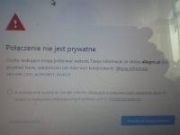 Chrome, Firefox, IE - Połączenie nie jest prywatne