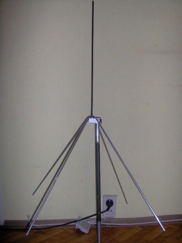 """""""szybka"""" antena na pasmo 2m"""