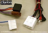 Clarion DXZ658RMP - podłączenie interfejsu